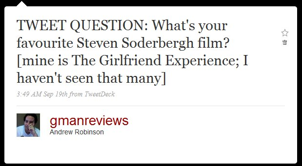 question - soderbergh