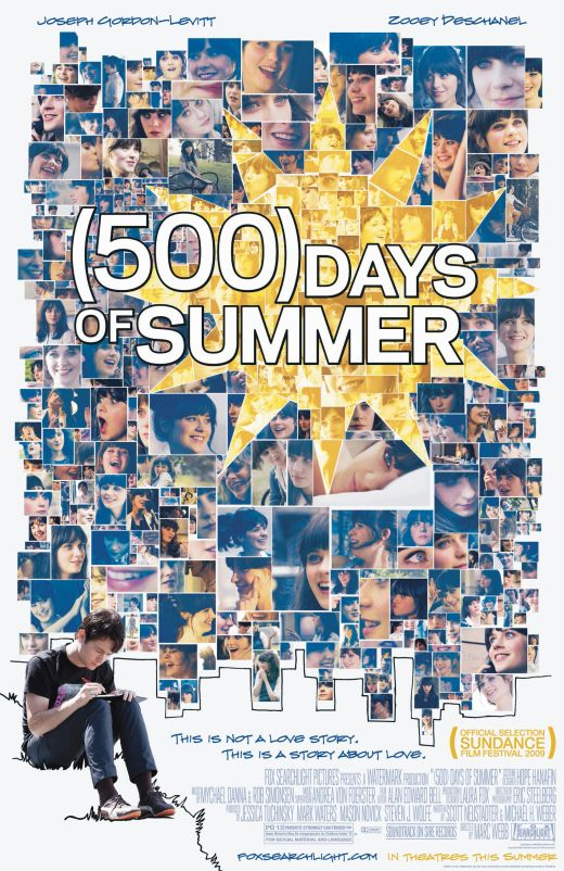 (500) Days of Summer (2009) 500-Days-of-Summer-Poster