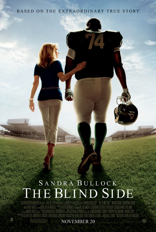 blind side movie review The blind side is a squeaky clean american family sports drama, based on the  true story of the baltimore ravens' current offensive tackle.